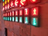 300mm 동적인 빨강 & 녹색 LED 보행자 교통량 신호등