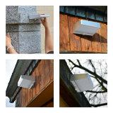 4W imperméabilisent le mur solaire léger Light&#160 du jardin DEL ;