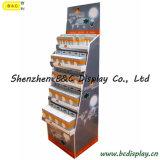 Piso exterior Lámparas de ahorro de energía LED Pantalla de papel, contadores, expositor de cartón, la pantalla (B&C-A030)