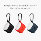 Airpodsの保護シリコーン充満カバーこつの袋の箱の皮の袖