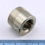 CNC personalizado que faz à máquina o tampão de válvula do gás do aço inoxidável