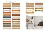 Imitaciones de madera suelos de baldosas de cerámica Decoative Livingroom