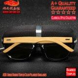 Óculos de sol polarizados dos templos A535 cor de bambu unisex