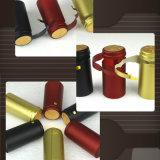 Capsule de rétrécissement de PVC de Hotselling pour l'empaquetage de bouteille de vin