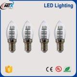 E14 базы при свечах C35 Хвостатых светодиодные лампы