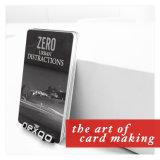 Loco impreso Cr80 de la tarjeta de crédito de la talla de las ventas calientes/tarjeta de la raya magnética de Hico
