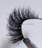 Heißes luxuriöses Nerz-Haar 100% des Verkaufs-3D peitscht reizvolle mehrschichtige falsche Wimpern