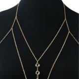 方法宝石類の女性のビードボディ鎖のネックレスのペンダント