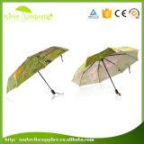 인쇄를 가진 가장 싼 자동적인 광고 3개의 겹 우산