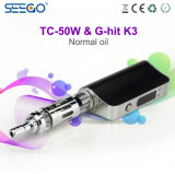 Seego에서 최고 가격 Tc 50W+Ghit K3 E 액체 수증기 CIGS