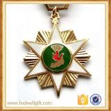 Médaille faite sur commande spéciale d'émail mol avec la bande