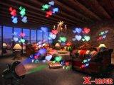 Veelkleurige Waterdichte MultiPartij 12 van Kerstmis de Lichten van de Projector van het Patroon van Dia's