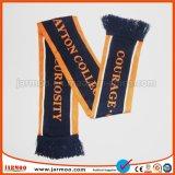 Écharpe promotionnelle tricotée chaude du football de sport