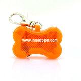 L'animal familier fournit des étiquettes de l'étiquette nommée DEL de crabot d'étiquette de sûreté d'animal familier
