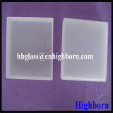 Cassetto opaco di vetro di quarzo del silicone fuso di elevata purezza