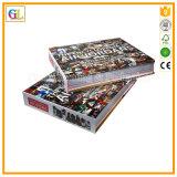 Alto servicio de impresión del libro de Hardcover de Qaulity (OEM-GL009)