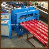 Roulis matériel en acier de toit en métal de tuile de toit formant la machine