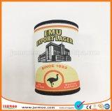 Promoción rojo impreso personalizado del enfriador de Vaso de cerveza