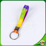 Caucho de silicón personalizado Keychain con insignia