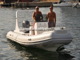 Liya 19feetの膨脹可能なボートの贅沢な肋骨の堅く膨脹可能なボート