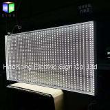 Signe de cadre d'éclairage LED d'annonces du cadre de tableau contre éclairé annonçant le panneau indicateur d'étalage