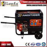 Generador Diesel portátil con ruedas y mango para Honda