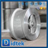 Didtek API 6D Edelstahl CF8m sondern Piate Oblate-Rückschlagventil aus