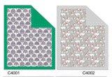 Weihnachten gedrucktes Micromink und geprägte Baby-Zudecke