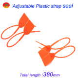 Tirar del sello plástico apretado para la logística