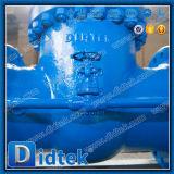 Válvula de puerta flexible levantada borde de cuña de la cara de Didtek Pn16