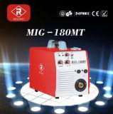 Soldador do inversor MIG/MMA de IGBT com certificado do Ce (MIG-160MT/180MT/200MT)