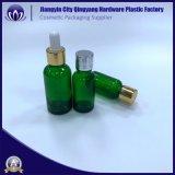 صغيرة زجاجيّة قطارة زجاجة مع أغطية بلاستيكيّة
