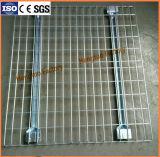 Plataforma galvanizada resistente do fio para a cremalheira da pálete do armazém