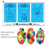 Espiral Gumball barata máquina Máquina de gomas de mascar