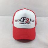 3D刺繍が付いている綿の野球のスポーツの網の帽子のトラック運転手の帽子