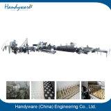 Linha de processamento fabricada da microplaqueta de batata com capacidade 200kgs/Hr