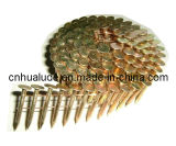 Pallets (zkj)를 위한 직류 전기를 통한 Roofing Pallet Coil Nails