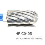 HP dental dental cortado media C040S del taladro del laboratorio de las herramientas de corte del carburo de los materiales consumibles