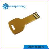 Heißer Verkauf USB-grelles Schlüssellaufwerk 2.0 1GB, 2GB, 4GB, 8GB