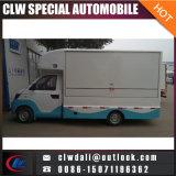 Pequeño coche móvil eléctrico del alimento 4*2 para el carro del alimento de la venta/de la venta