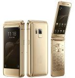 卸売4.2のインチSmビジネス携帯電話は4G Lteの携帯電話フリップスマートな電話をロック解除した