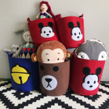 Different Size Manufactures Cartoon Felt Storage Box Organizer