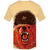 남자의 t-셔츠 100%년 폴리에스테 디지털 승화 t-셔츠를 인쇄하는 도매 주문 염료 승화