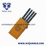 Наивысшая мощность портативный Jammer GPS и сотового телефона (DCS PCS 3G CDMA GSM)