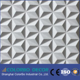El panel de pared decorativo tarjeta/3D del PVC 3D de China