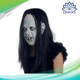 Huid van de Emulsie van het Masker van het Spook van de Zombie van het Latex van Halloween de Dierlijke Griezelige Enge Toothy Afschuwelijke met het Masker van Carnaval van het Haar