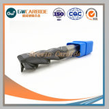 HRC45 Carbide extrémité plate mill pour la coupe