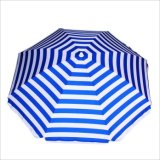 Рекламировать зонтик стекла волокна Sun Paraso пляжа промотирования