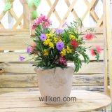 簡単な様式の販売のための円形の装飾用のマグネーシアの植木鉢