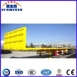 De Semi Aanhangwagen van de Container van het platform
